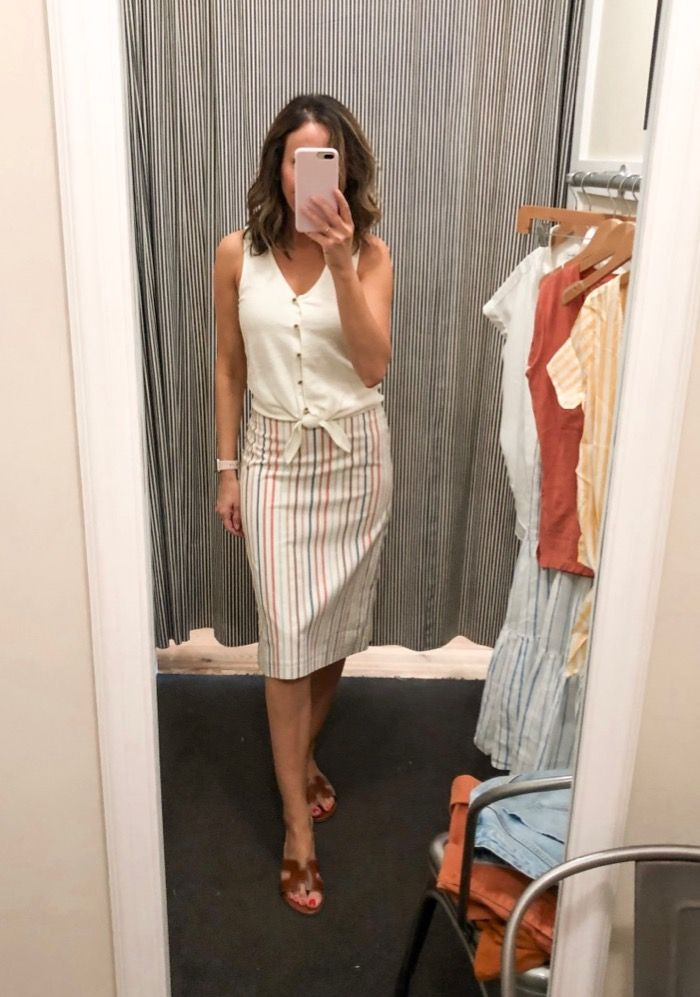 Fitting Room Snapshots (Madewell) ~ Lilly Style is part of Fashion -  Hope all of you had a great weekend!  Last time I was at Madewell I tried on a few things but never shared them, so this time I thought I better share  Especially…