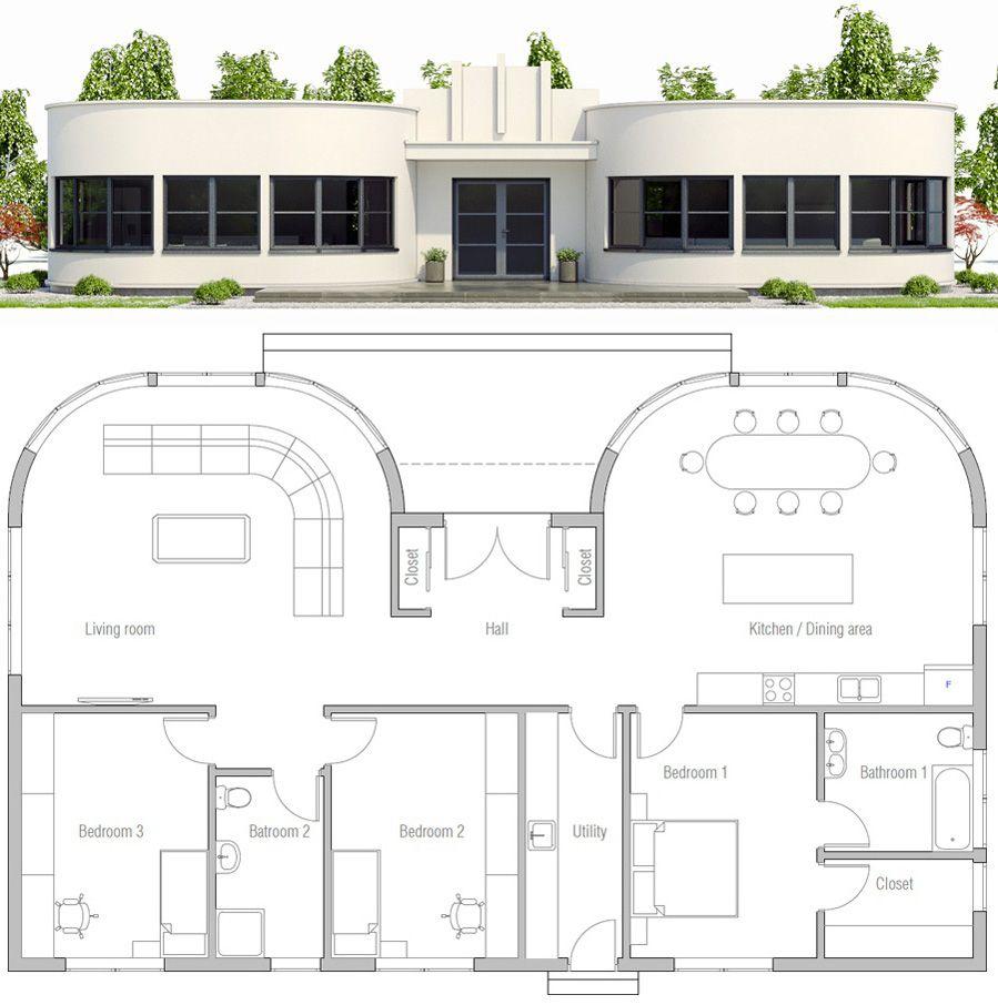 Single Story Home Plan Beach House Floor Plans House Plan Gallery House Plans