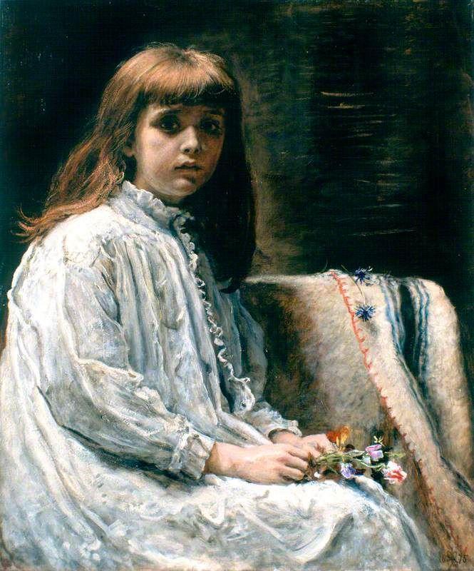 The Convalescent, 1875. John Everett Millais (1829-1896)