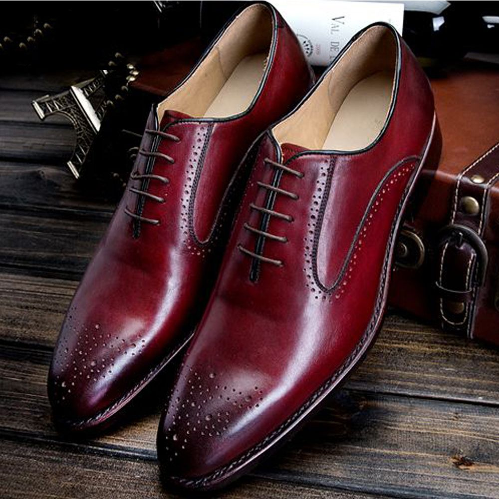 e1566bdb83 Popular Burgundy Mens Shoes-Buy Cheap Burgundy Mens Shoes lots ...
