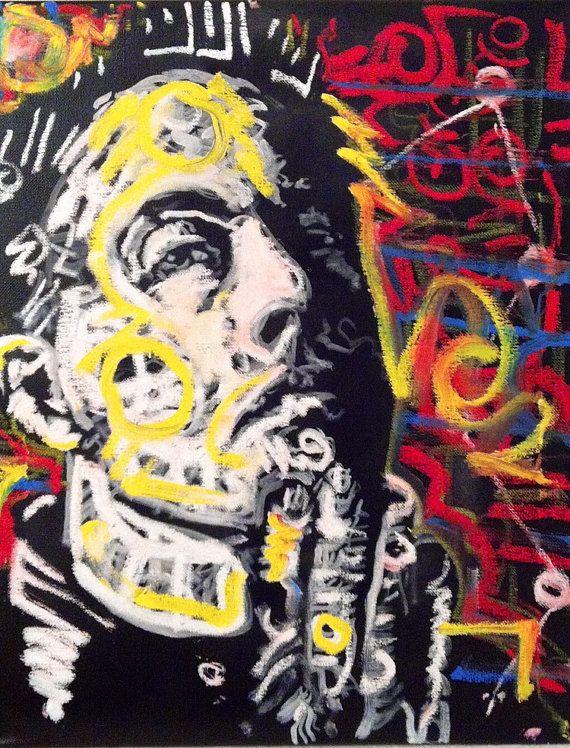 Canvas Wall Art Of Elon Musk By Matt Pecson 18x24 Made To Order Pop Art Painting Canvas Painting Boyfriend Gift Husband Gi Art Pop Art Painting Canvas Wall Art