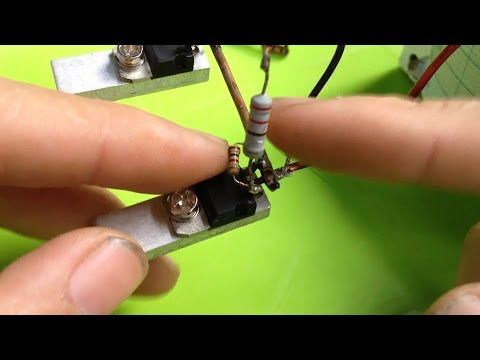 Inverter Circuit 2 Channel Mosfet IRF3205 - YouTube