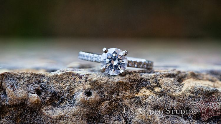 Engagement Ring    © 2013 Uncorked Studios, LLC - Philadelphia Pennsylvania Wedding Photographer