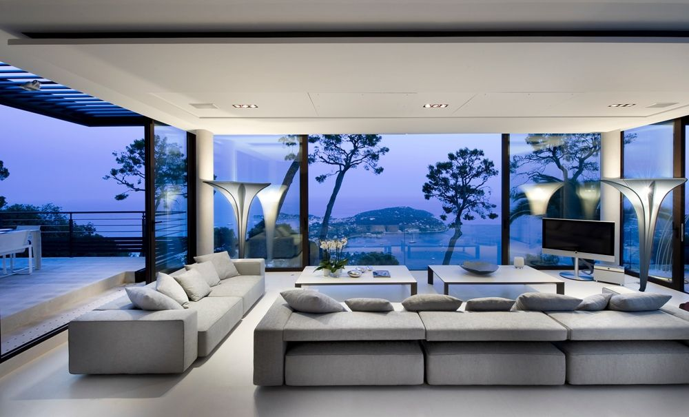 Villa Bayview, Cap Ferrat In The Cote Du0027Azur, France