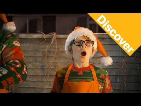 B&Q #ChristmasUnleashed. A humorous Christmas advert depicting 'everyday heroes' unleashing the Christmas in their homes.