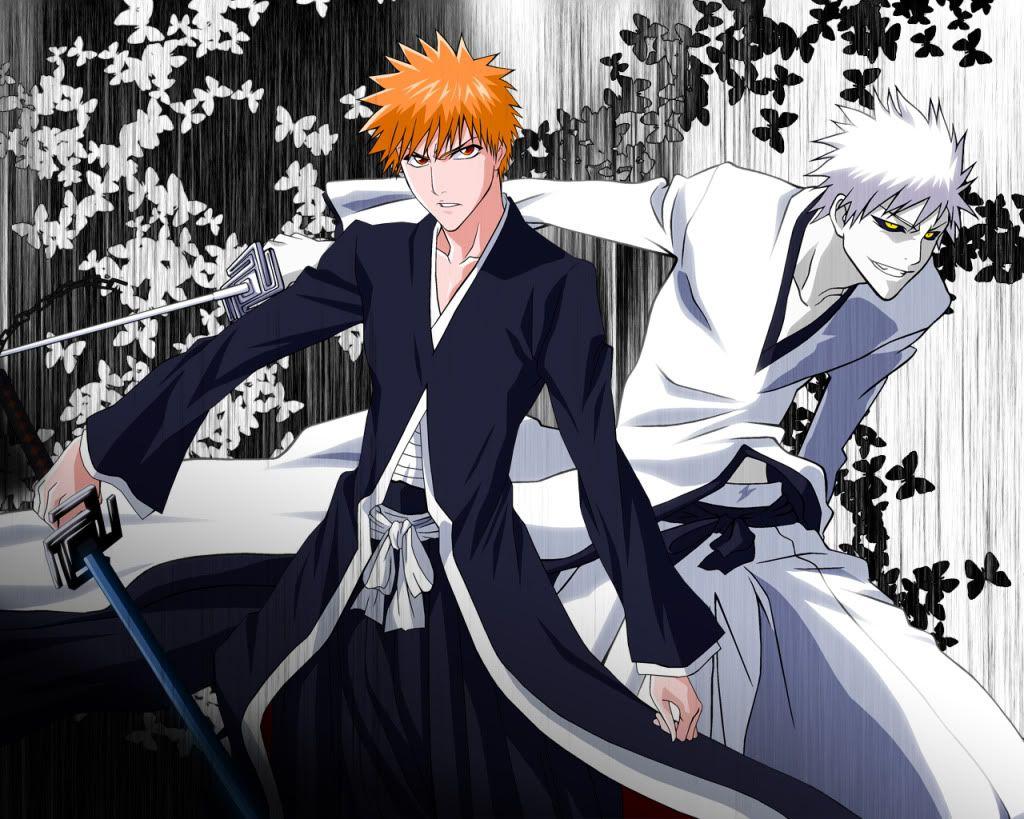 Bleach Ichigo And Hichigo Bleach Anime Bleach Anime Ichigo Bleach Fanart