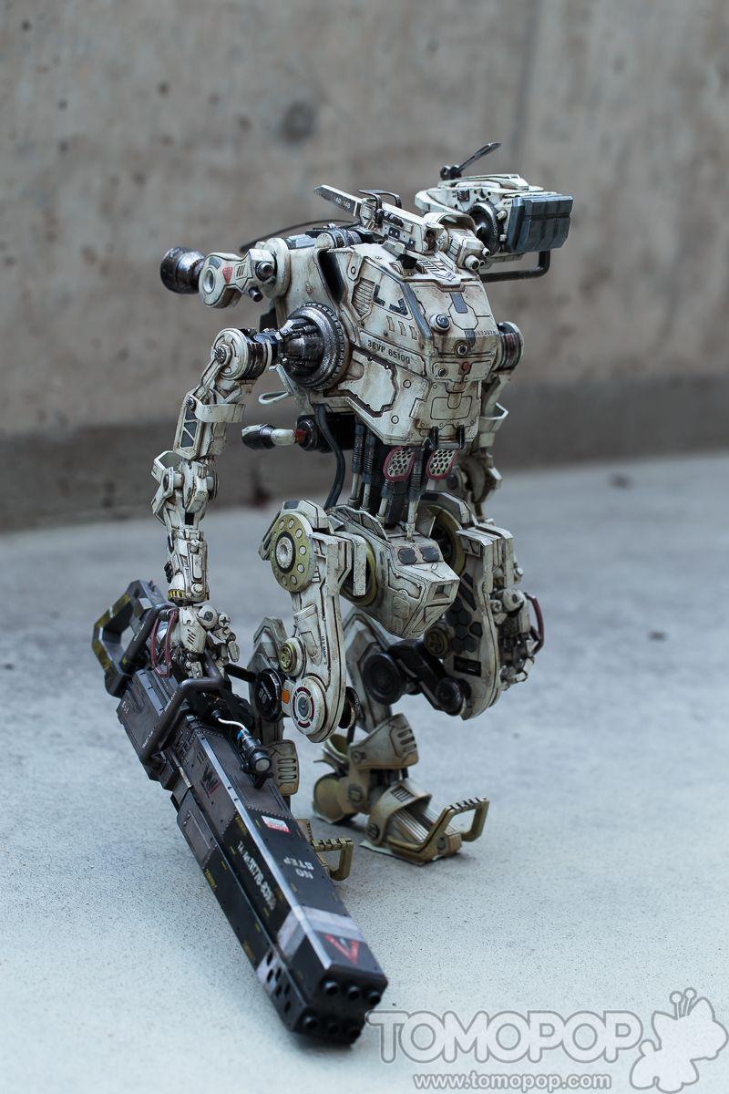 Review: Titanfall Stryder by Threezero | Robot concept art ...