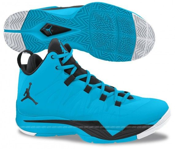 jordan super.fly 2 blue black white 2 570x484 Jordan Super.Fly 2 Blue ad9aab5f0
