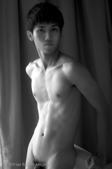 Asian twinks navel filled