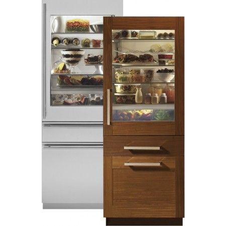 Under Cabinet Refrigerator Glass Door