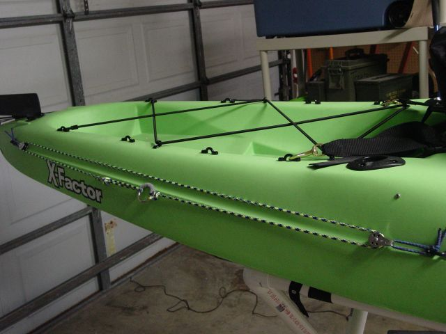 Kayak Anchor Trolley But I Would Make To Bow To Stern So