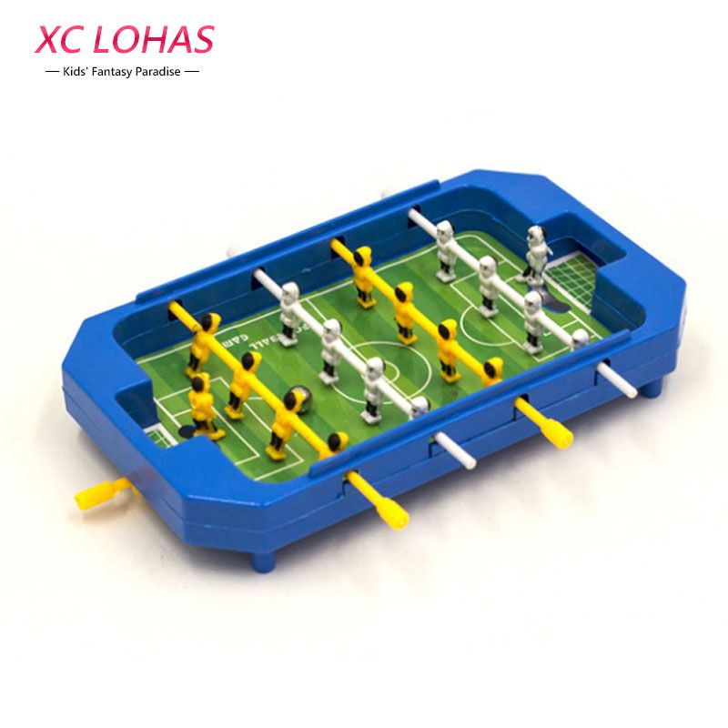 Mini Desktop Plastic Foosball Board Table Football Toy Children Tabletop  Soccer Table Game Sports Toys For
