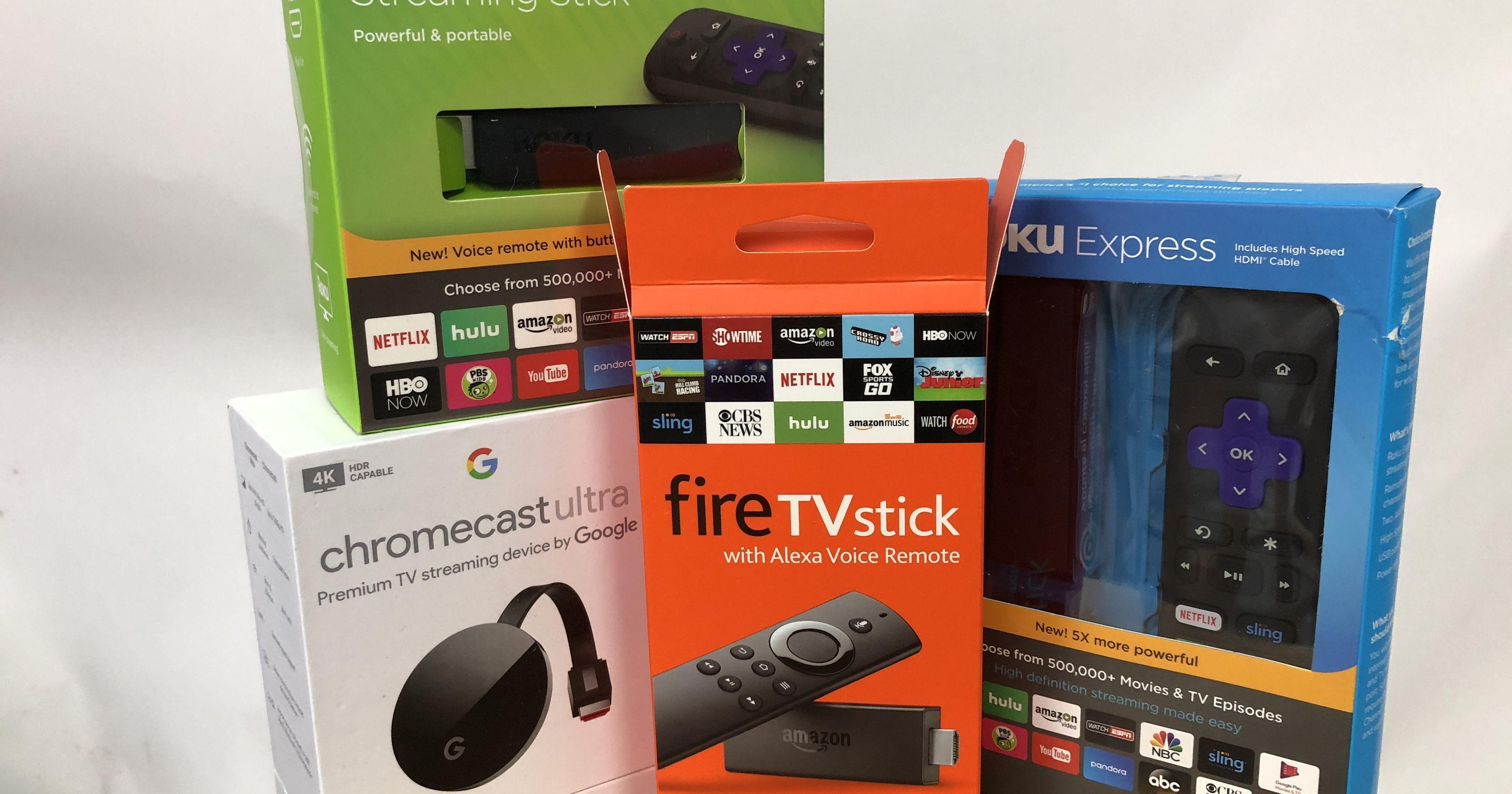 How to buy a streaming TV player Apple TV vs. Roku vs