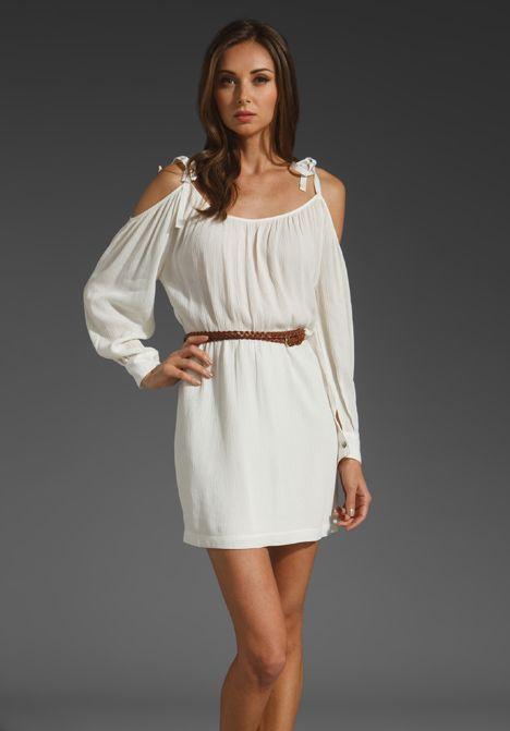 white summer dress with brown belt wwwpixsharkcom