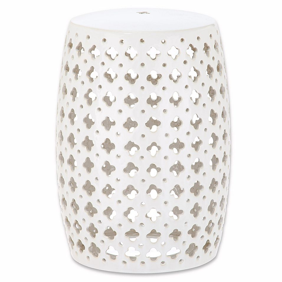 Safavieh Lacey Garden Stool With Images Garden Stool
