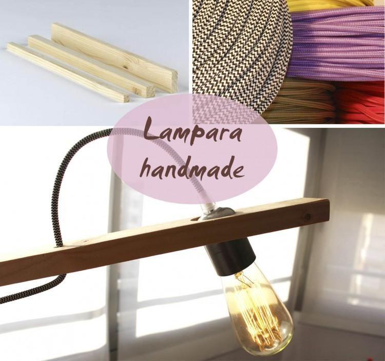 Una Lámpara Hand Made Con Mucha Personalidad Lámpara Lámparas Decoración De Unas