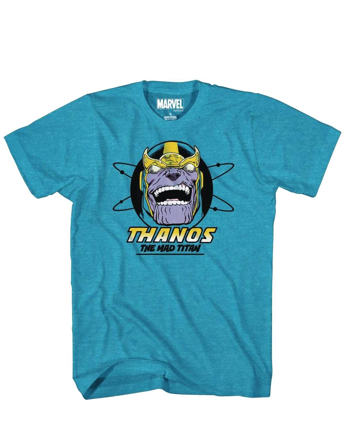 364998360 Marvel Thanos Teeth Px Sapphire Heather T-Shirt Medium Fort Collins Comic  Book Store