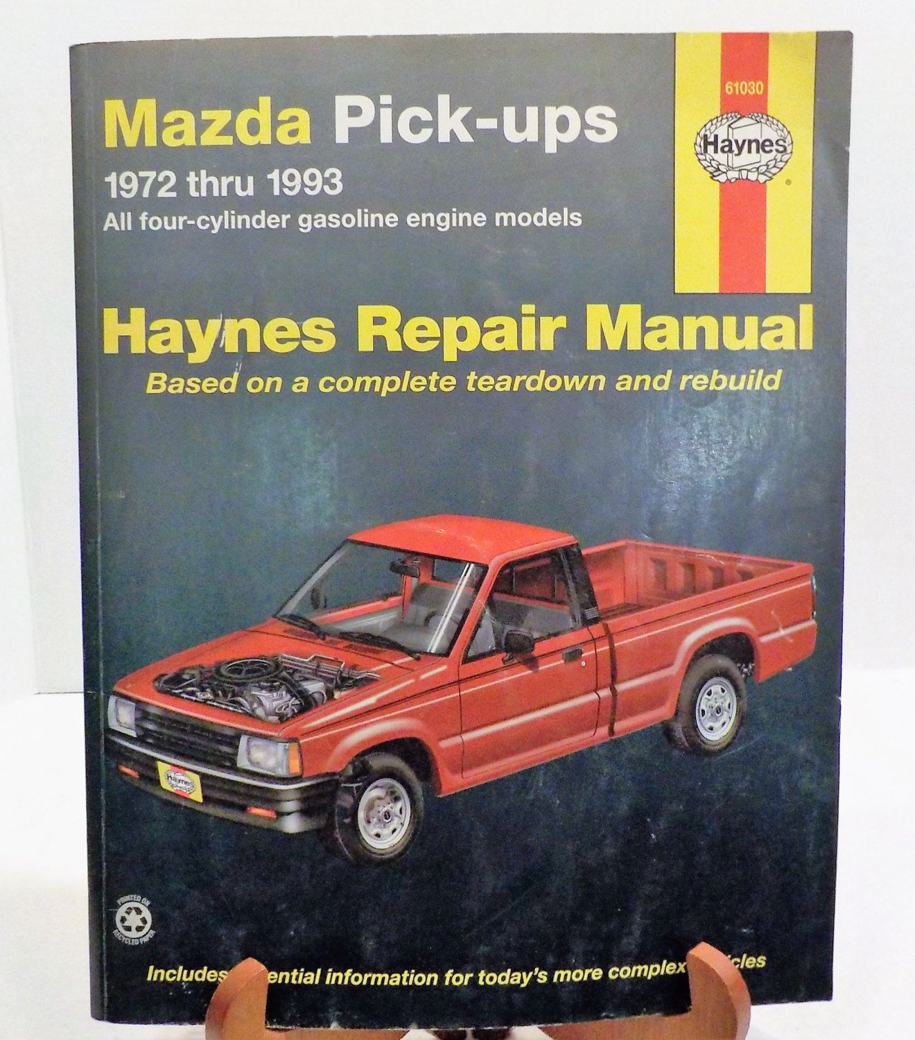 haynes mazda pickups repair manual 1972 1993 12 chapters by rh pinterest com 2016 Mazda Pickup 1984 Mazda Pickup