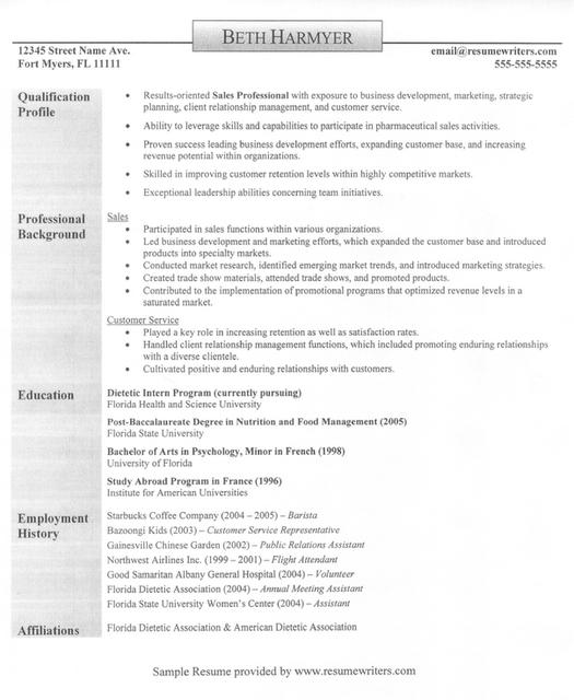 Sales rep, customer service rep resume; good content | Best Resume ...
