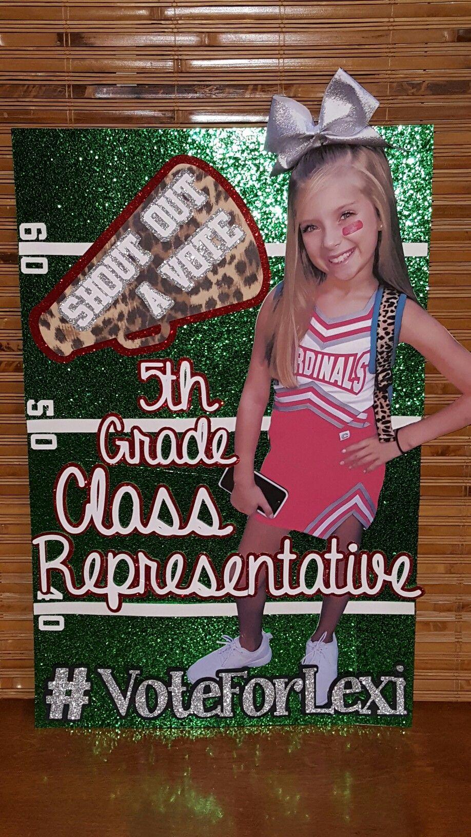 Student Council Class Representative Campaign Posters! 5th ...
