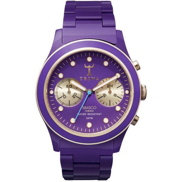 Triwa Watch Purple Rain