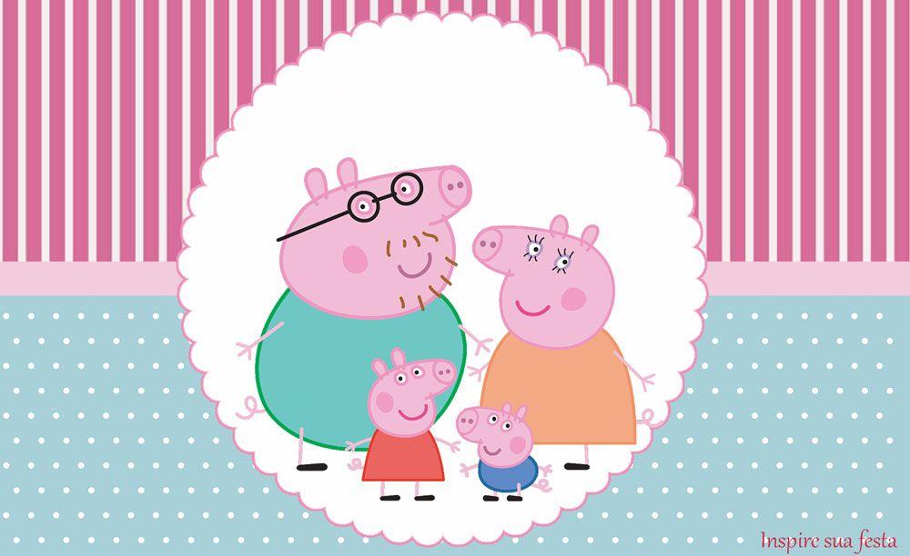 Kit Festa Gratis Para Imprimir Peppa Pig Inspire Sua Festa