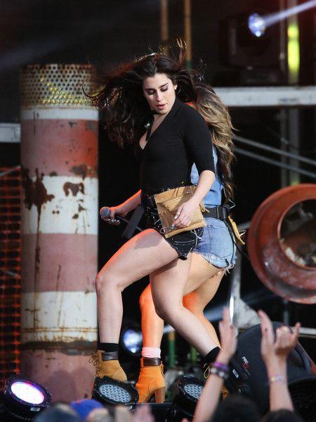 Lauren Jauregui Photos Photos - Lauren Jauregui of 'Fifth Harmony' is seen at 'Jimmy Kimmel Live'. - 'Fifth Harmony' at 'Jimmy Kimmel Live'