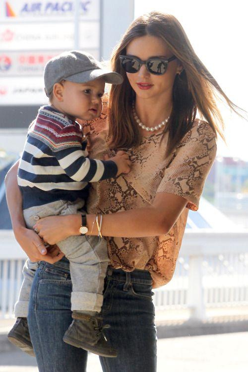Miranda Kerr & baby Flynn