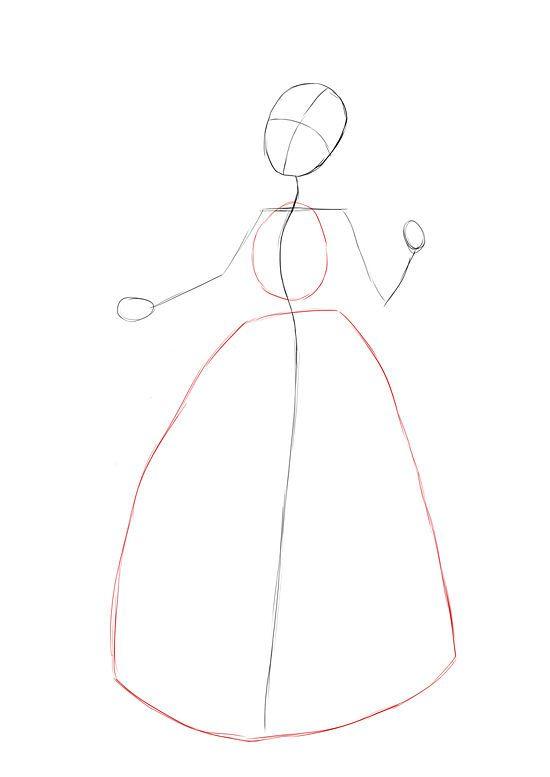 Draw snow white my style pinterest dessin dessin - Comment dessiner blanche neige ...