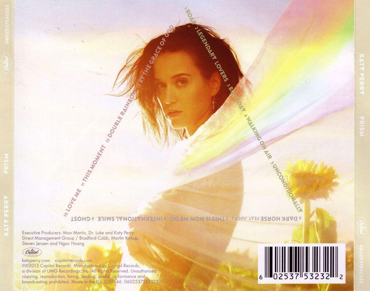 Caratula Trasera de Katy Perry - Prism