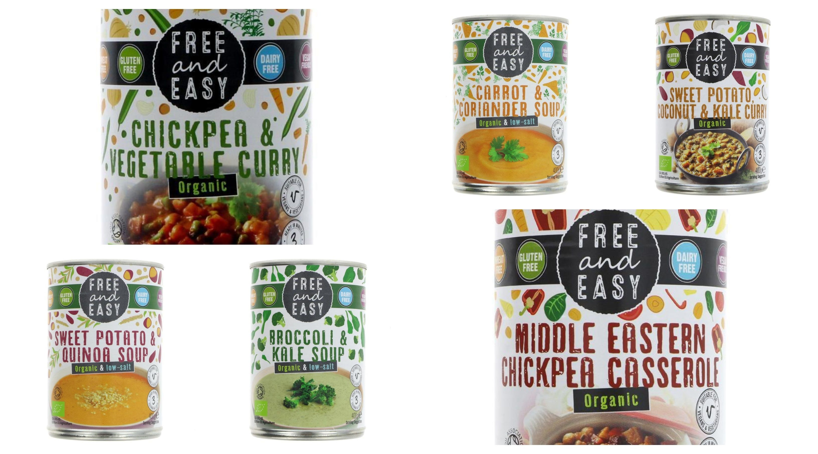 The 'Free and Easy' Range Organic Simple organic, Organic