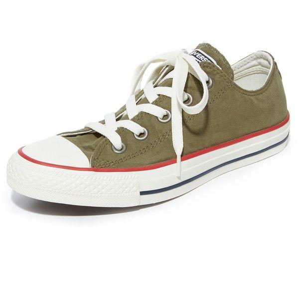 Zapatos negros con cordones Converse All Star Ox para mujer QvWrZP54Z
