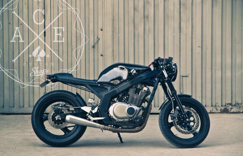 Suzuki GS500 cafe racer / streetfighter | Dream Machines ...