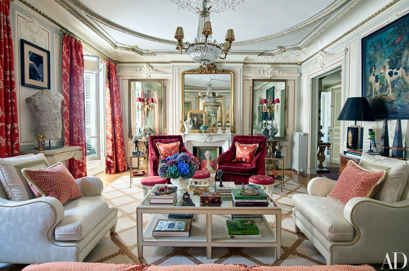 Timothy Corrigan Interior Designer, Paris. Decorazione