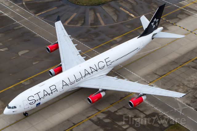 Scandinavian Airlines System Sas Airbus A340 313 Star Alliance Logojet Airbus Scandinavian Airlines System Aircraft Pictures