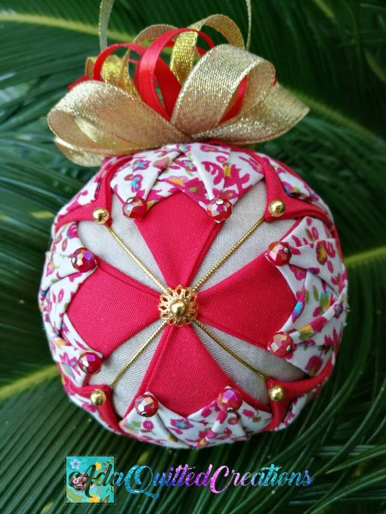 Beautiful Cross Quilted Ornament Quilted Christmas Tree Etsy In 2021 Fabric Ornaments Quilted Christmas Ornaments Quilted Fabric Ornaments