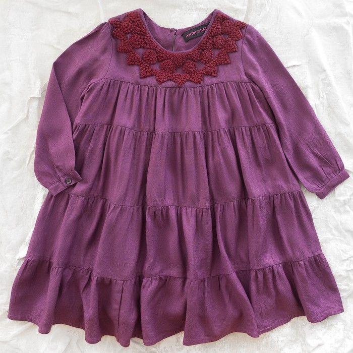 antik batik knot dress - dresses/one pieces - girl | Thumbe Line
