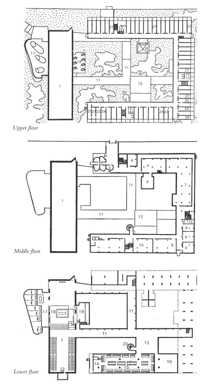 Sainte marie de la tourette le corbusier home plan for Design della casa cad
