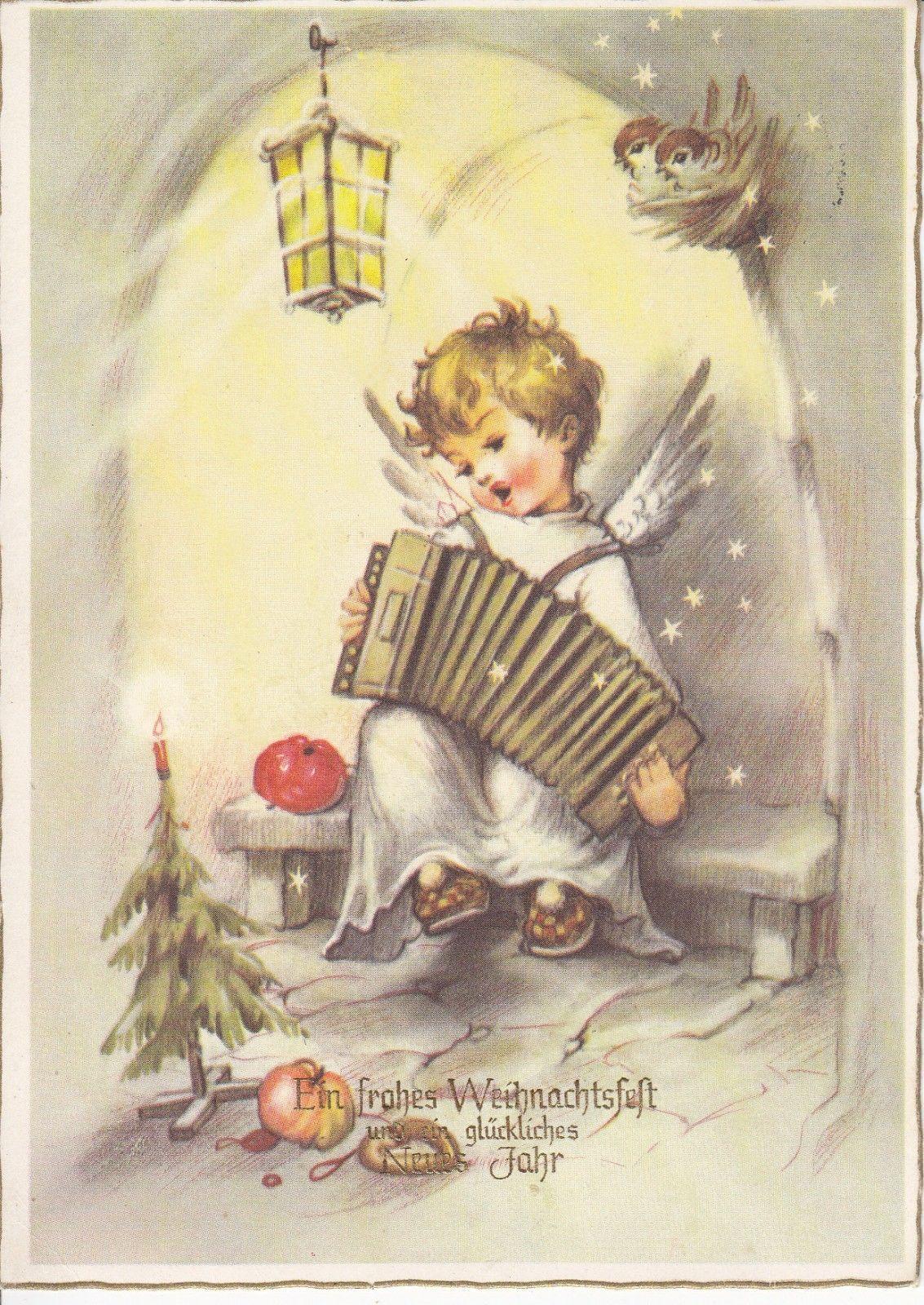 Details zu Postkarte - Ein frohes Weihnachtsfest und ein glückliches ...