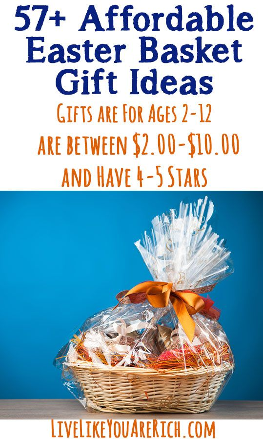 Best Rated Affordable Kid Gifts On For Under 10 00 Perfect Easter Baskets Livelikeyouarerich