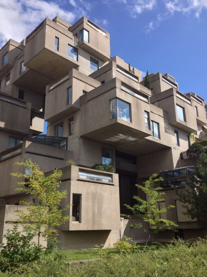 Habitat 67 By Hans Scharoun Montreal