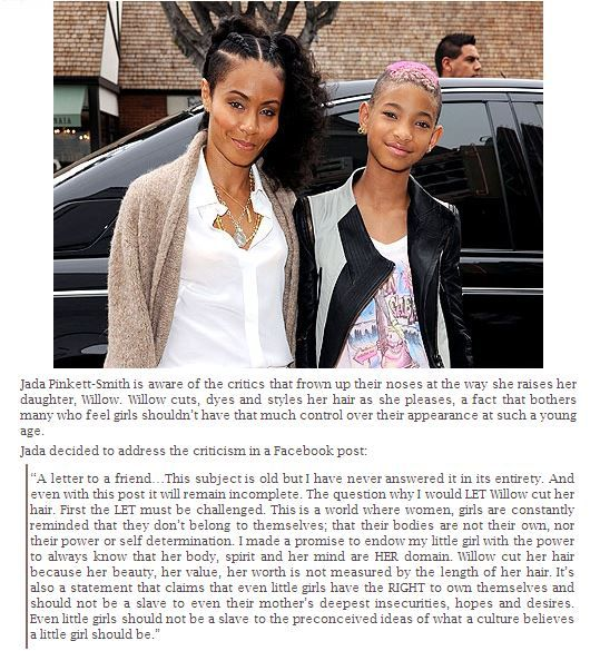 Jada Pinkett-Smith & Willow