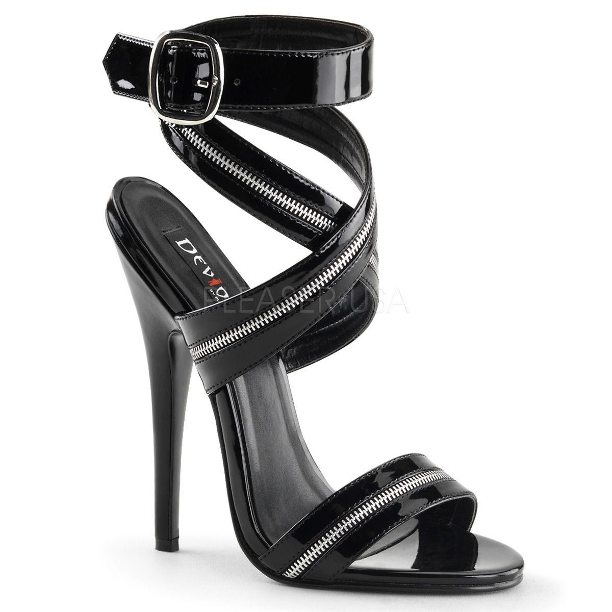 Chaussures Noir Pleaser goWqRVtng