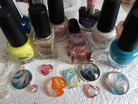 Photo of Tutorial Nagellack / Nagellack Cabochons DIY – Schmuck selbst machen: Caboc … – Mein Blog