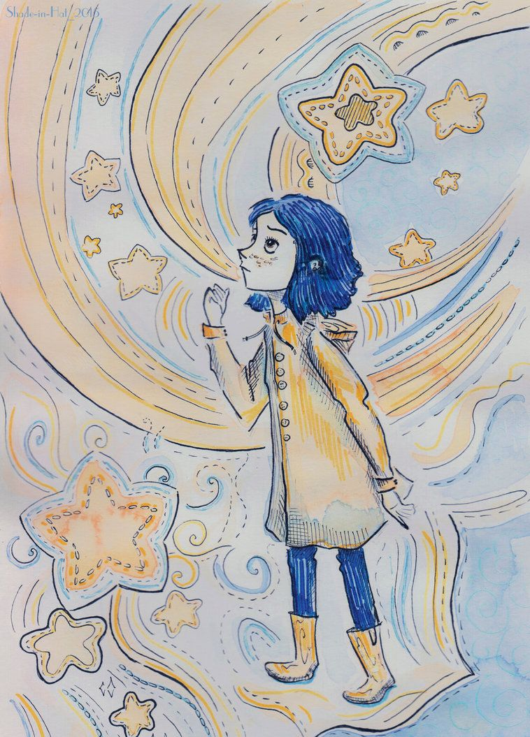 Coraline By Shade In Hat Deviantart Com On Deviantart Coraline Nightmares Art Coraline Jones