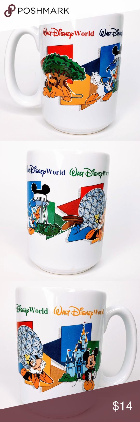 Walt Disney World Character Grandpa Coffee Mug Disney World Characters Disney World Walt Disney World