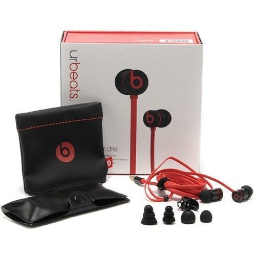 df5e21ec466 Genuine New Beats by Dr. Dre Urbeats In-Ear only Headphones 2.0 - Black /  Red #BeatsbyDrDre