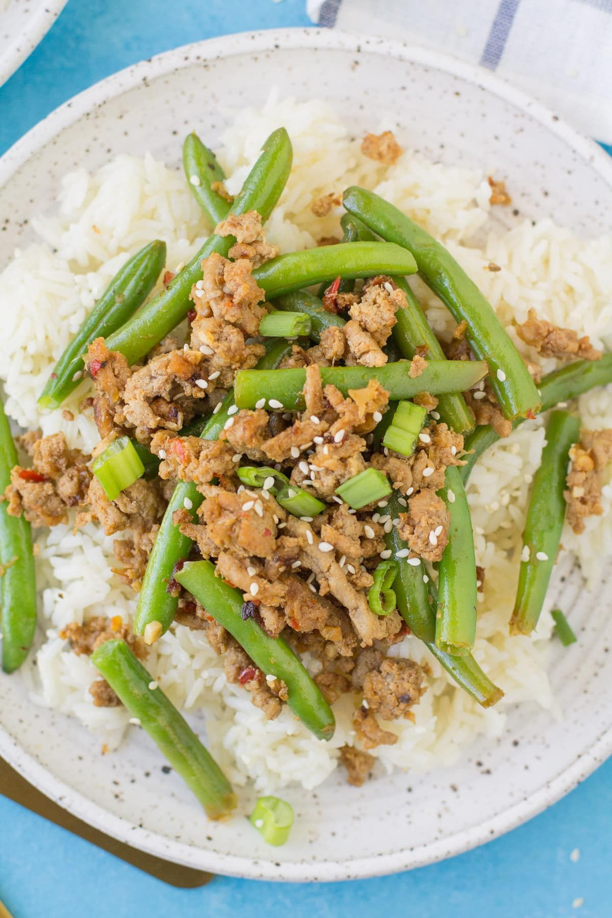 Spicy Ground Turkey Stir Fry - The Clean Eating Couple