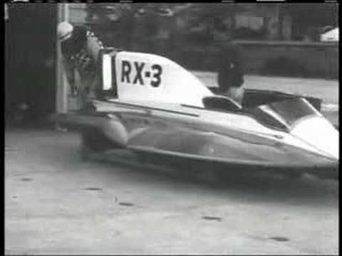 World's Fastest Outboard in 1958 | mercury | Boat, Racing, World