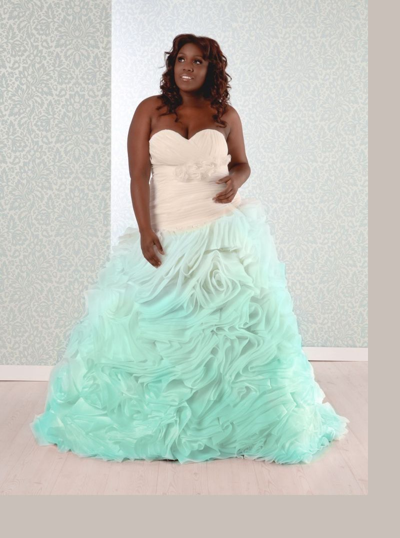 Pricilla: Plus Size Ball Gown Sweetheart Neckline | Real Size Bride ...